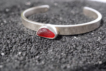 Load image into Gallery viewer, Seaglass Cuff- Red