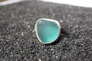 Seaglass Statement Ring