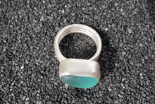 Load image into Gallery viewer, Seaglass Statement Ring