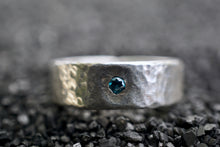 Load image into Gallery viewer, Blue Diamond Ring