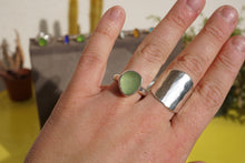 Load image into Gallery viewer, Thick Seaglass Ring