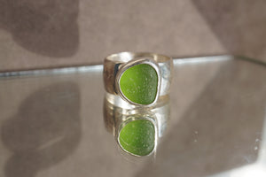 Chunky Seaglass Ring