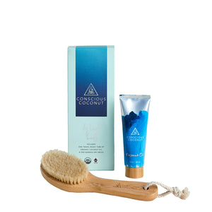 Coconut Oil & Dry Brush Bundle