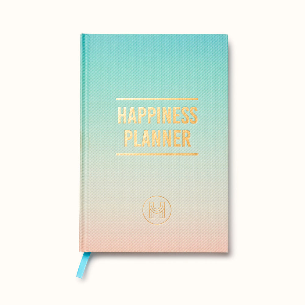 Happiness Planner Gradient Turquoise/Peach