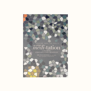 Modern Meditation Coloring Book