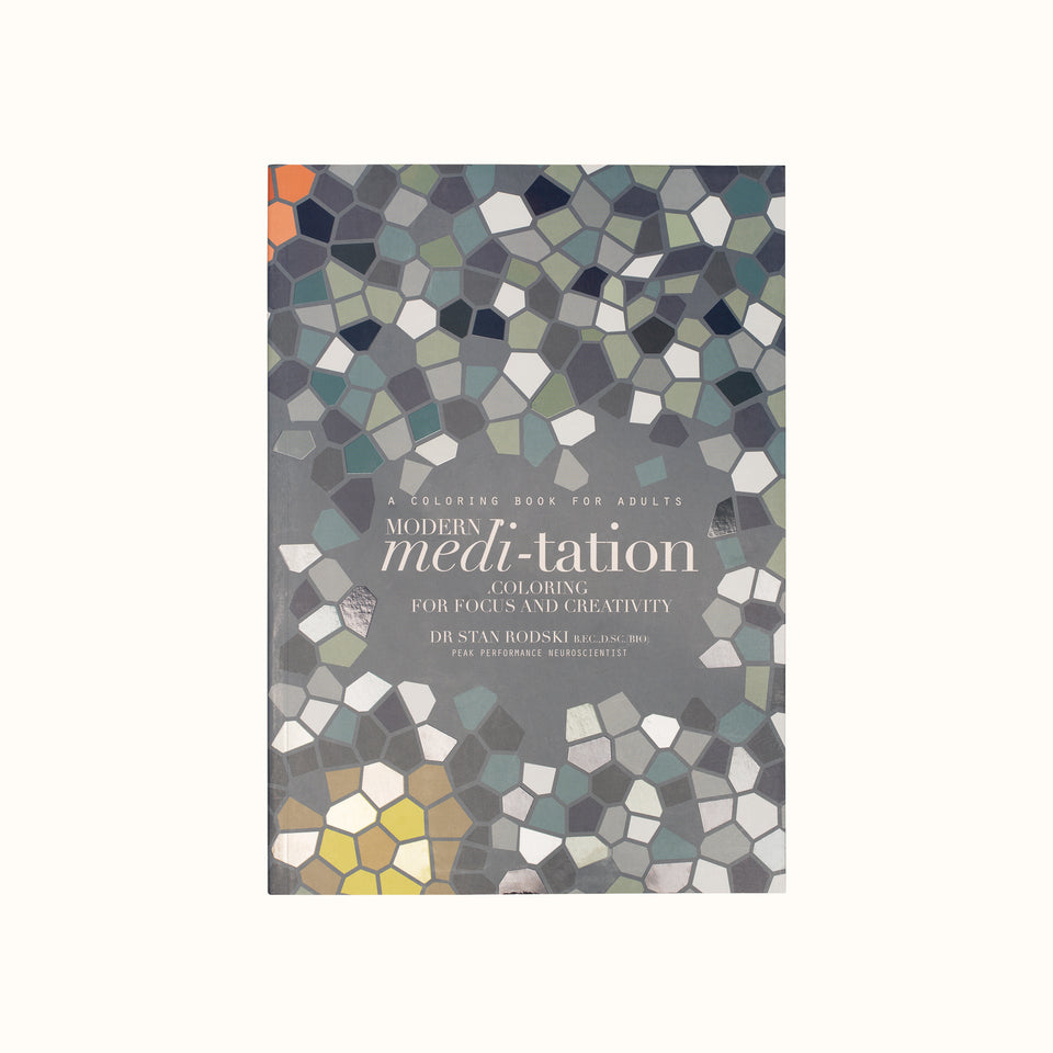 Modern Meditation Coloring Book - Chronicle Books – INSCAPE