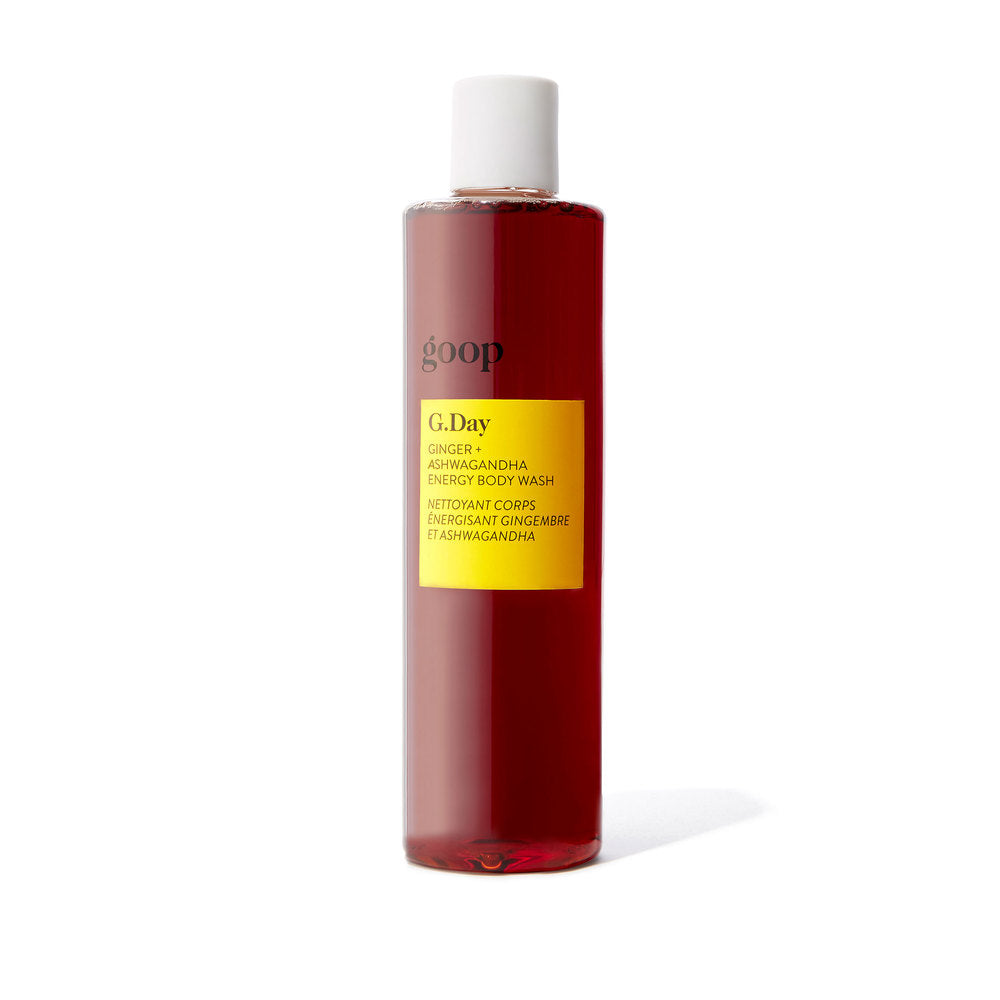 G.Day Ginger + Ashwagandha Energy Body Wash
