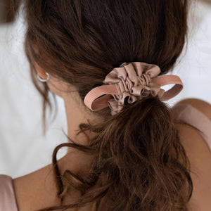 Bare Washable Silk Scrunchie
