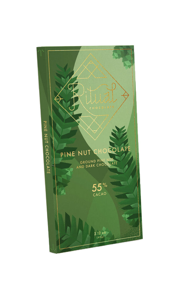 Ritual Vegan Pine Nut Chocolate 55%