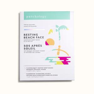 Resting Beach Face Mask Set