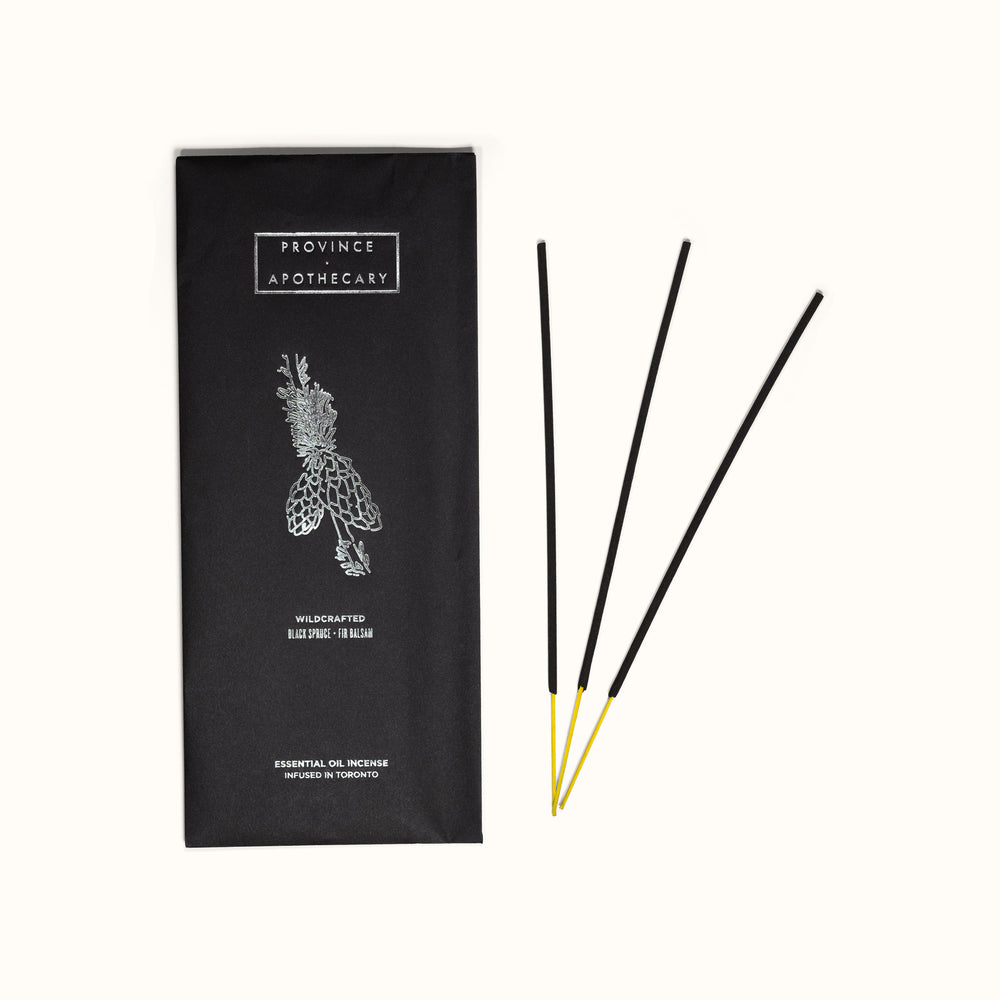 Black Spruce & Fir Essential Oil Incense