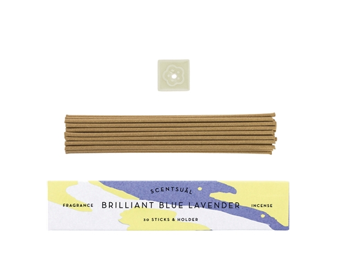 Brilliant Blue Lavender Incense