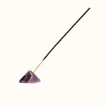 Amethyst Pyramid Incense Holder