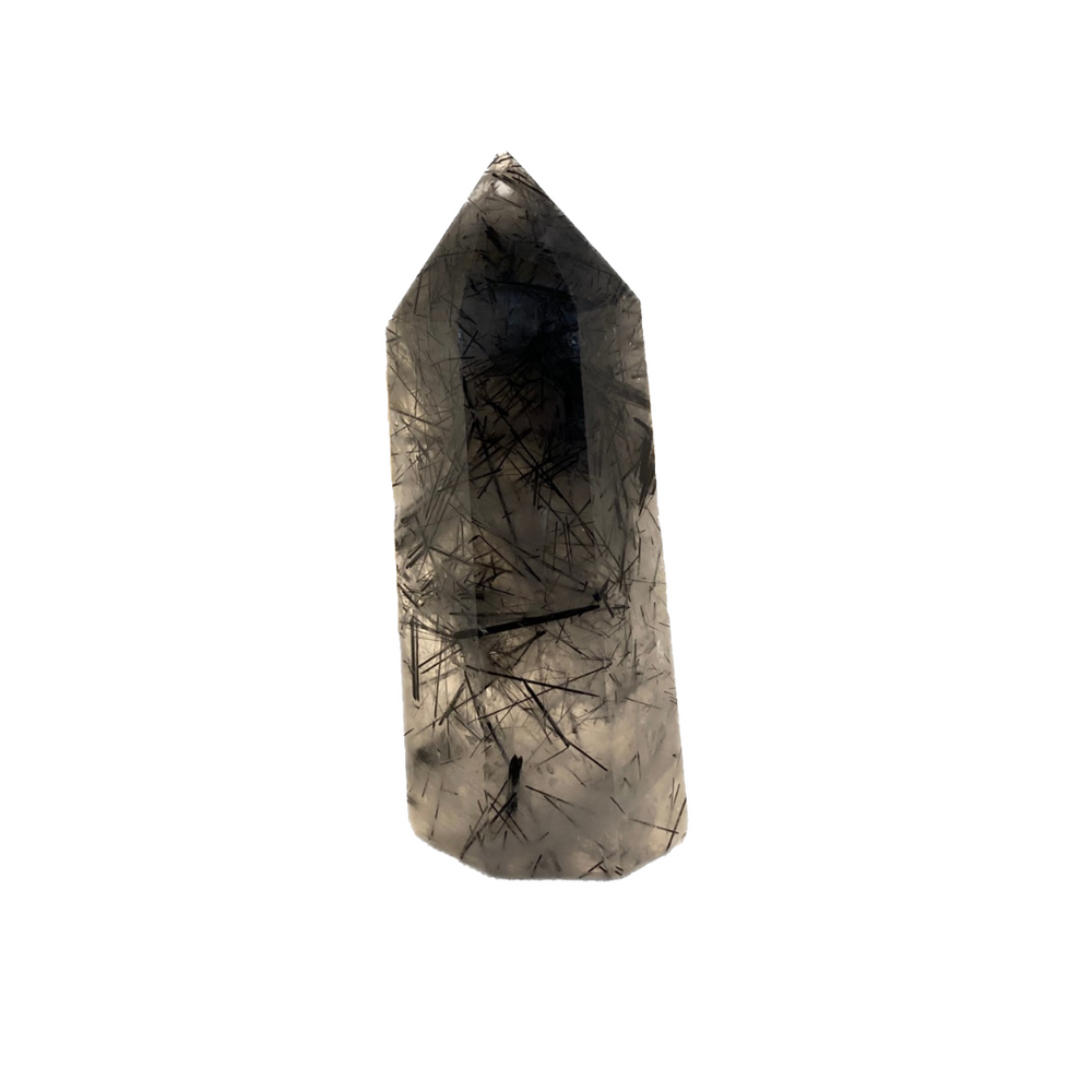 Black Tourmalinated Quartz 4.5in