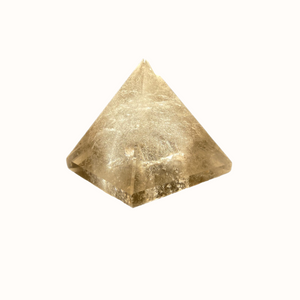 Natural Citrine Pyramid 2.5in