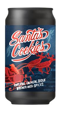 Santa's Cookies Spiced Imperial Oatmeal Stout 4-Pack