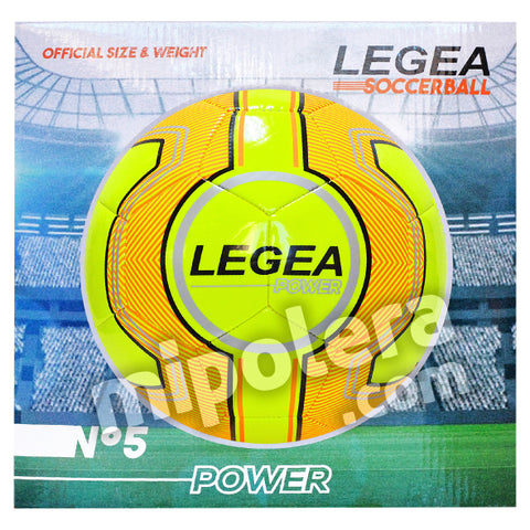 BALON FUTBOL LEGEA POWER + CAJA