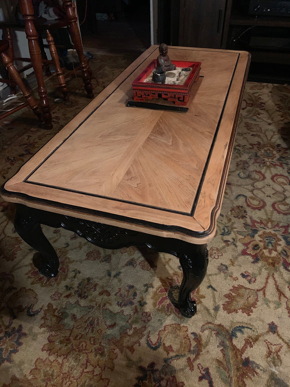 Coffee Table w/Natural Satin Finish