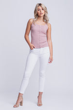 ANAIS - KNITTED TANK TOP - NUDE