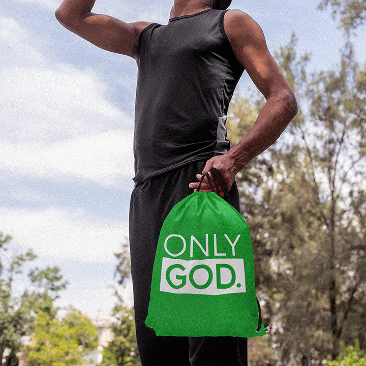 Only God Drawstring Bag - Authorytees