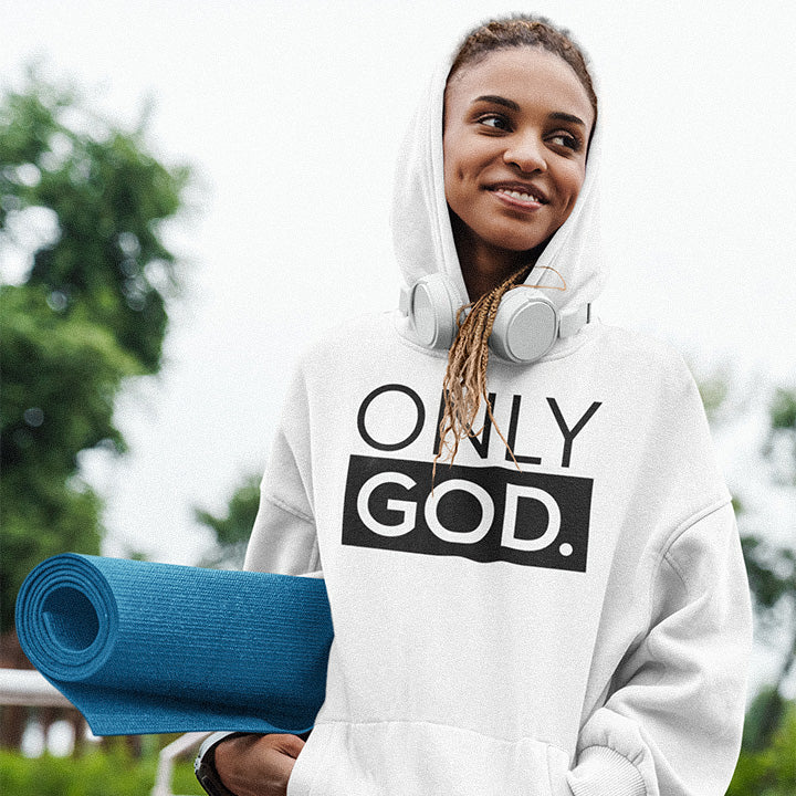 Only God Unisex Hoodie - Authorytees