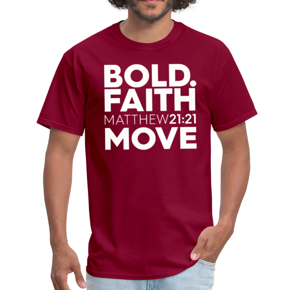 Bold Faith Move Unisex Tee - Authorytees