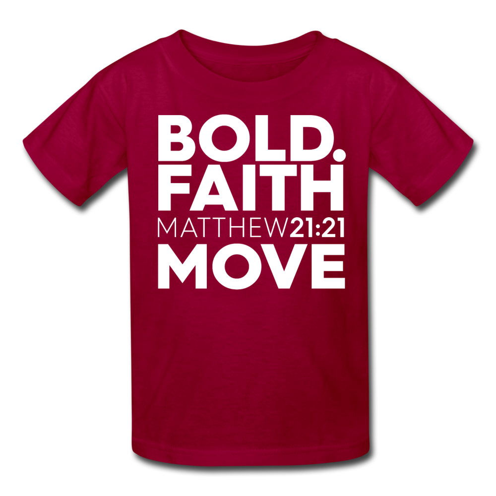 Bold Faith Move Kids Tee - Authorytees