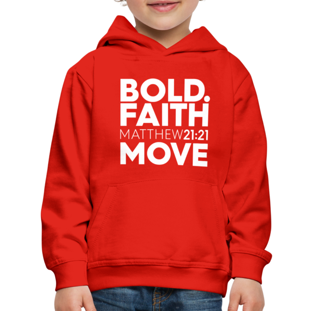 Bold Faith Move Kids Hoodie - Authorytees