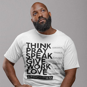 Think Pray Speak Unisex Tee - Authorytees