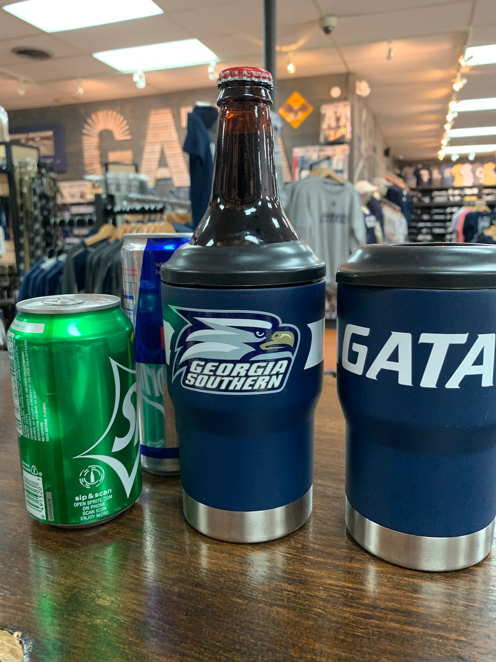 Stainless 3-In-1 Can or Bottle Jacket - Athletic Eagle GATA
