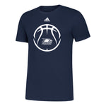 ADIDAS Basketball Sports Icon Amplifier Tee - NAVY