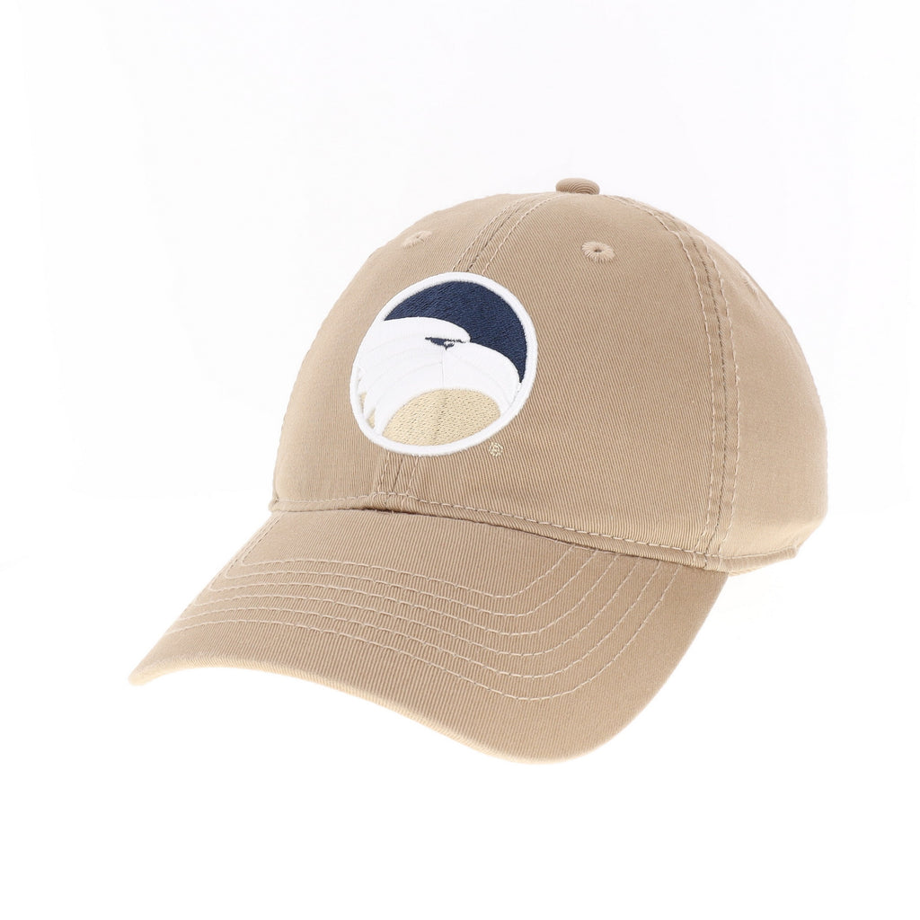 Academic Eagle Head - Antique Gold Twill Cap