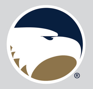 "Academic Eagle Head - 12"" Decal Sticker"