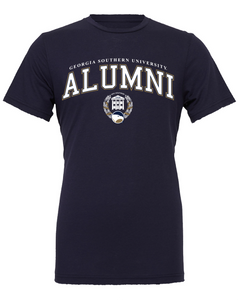 Alumni Arch Seal Short Sleeve - Supersoft Navy