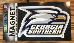 Athletic Eagle Head Standard Size Magnet