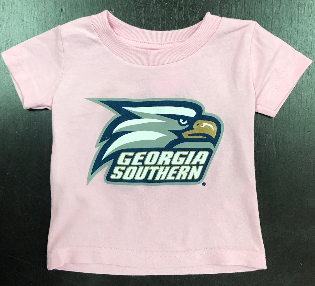 Infant/Toddler Athletic Eagle Tee - PINK