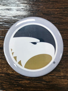 Academic Eagle Head Button Magnet