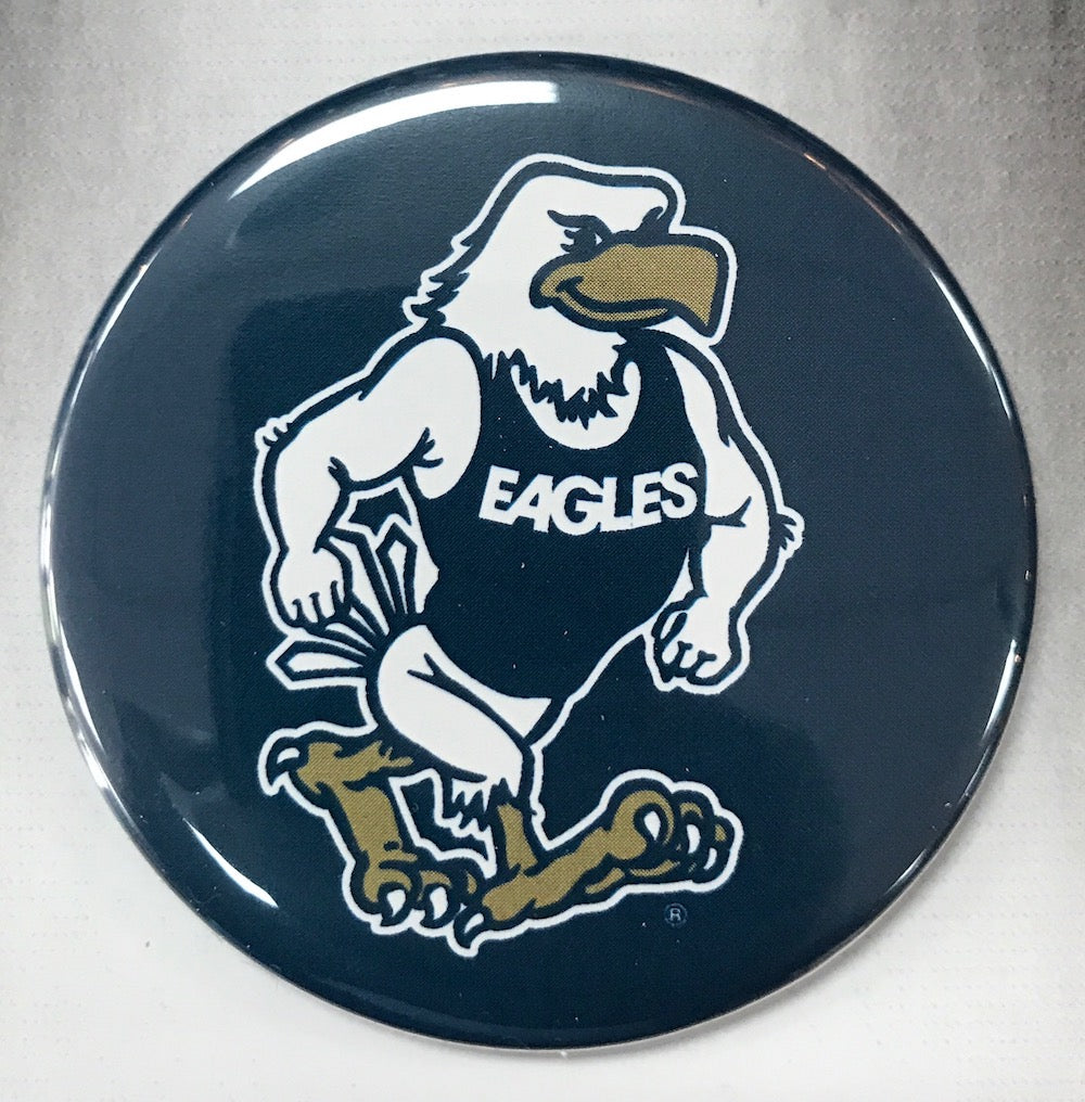 Strutting Eagle Button Magnet