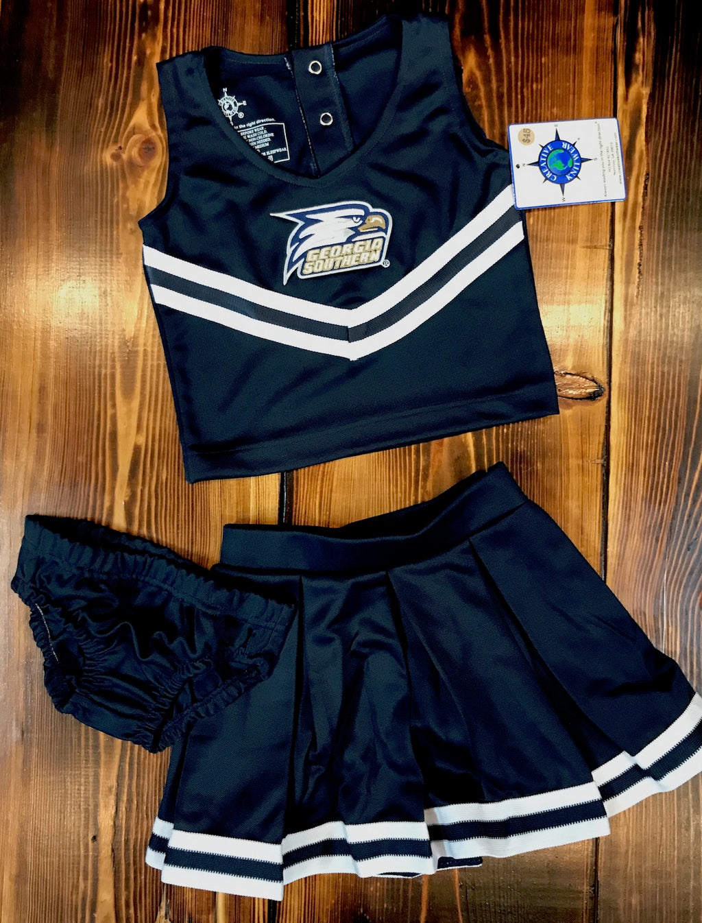 Three Piece Cheer Dress w/Bloomers