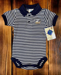 Stripe Polo Bodysuit