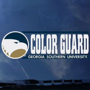 "COLOR GUARD Decal Sticker - 2"" x 6.5"""