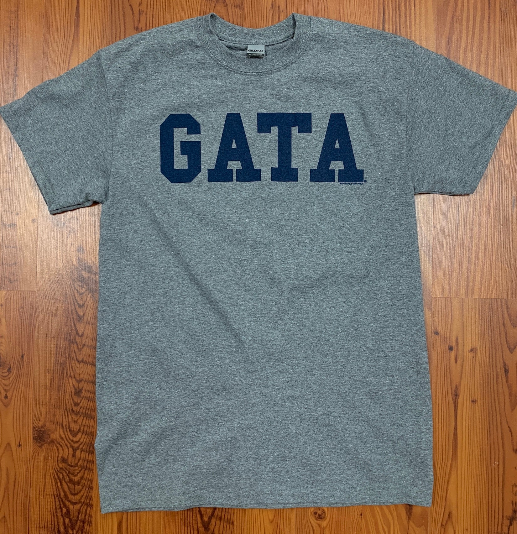 Classic GATA Short Sleeve - Graphite Heather