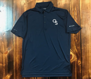 Columbia Omni-Wick Navy Golf Polo