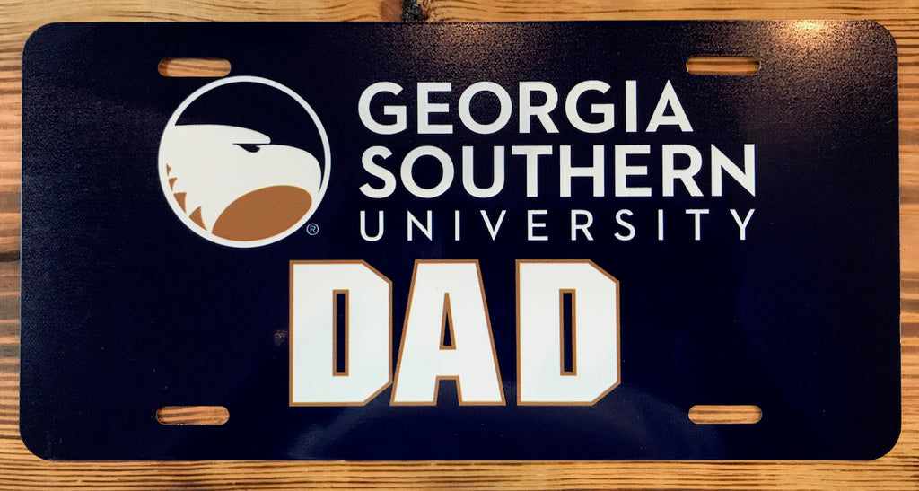 Dad License Plate