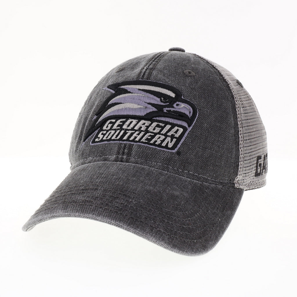 Dashboard Charcoal Canvas Trucker - Athletic Eagle