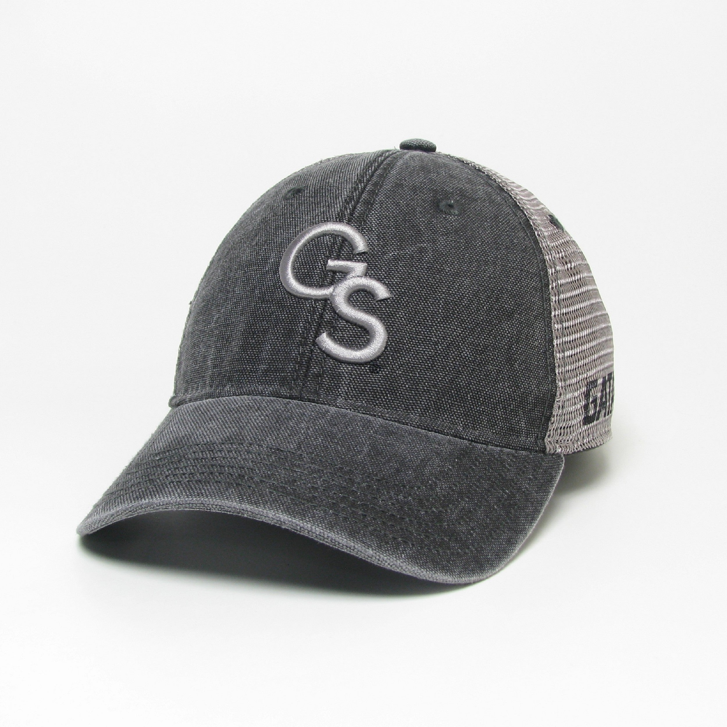 Dashboard Charcoal Canvas Trucker - Interlocking GS