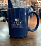 DAD Etched Ceramic Coffee Mug - NAVY