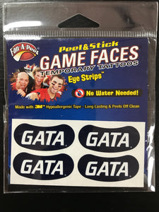 GATA Strip Temporary Face Tattoos