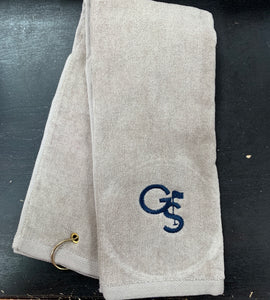 GS Golf Towel - Khaki