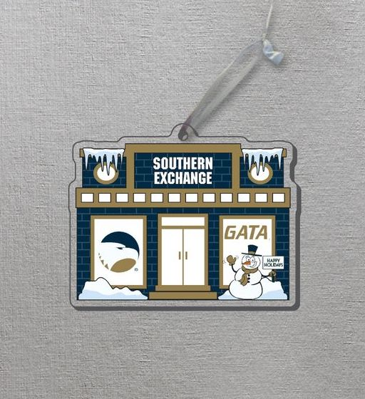 Acrylic Southern Exchange Ornament